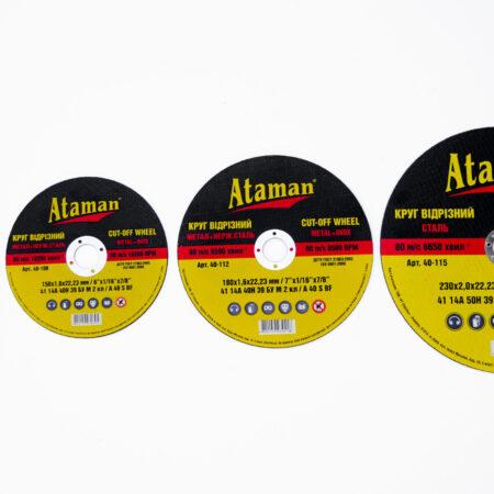 Marken Trennscheiben Ataman